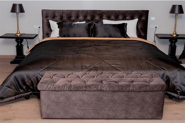 Кровати с ящиком для хранения белья